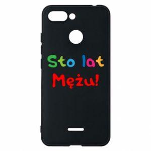 Phone case for Xiaomi Redmi 6 Happy birthday, husband! - PrintSalon