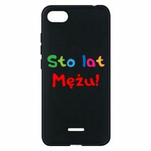 Phone case for Xiaomi Redmi 6A Happy birthday, husband! - PrintSalon