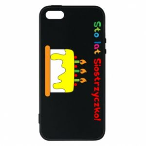 Phone case for iPhone 5/5S/SE Happy birthday, sister! - PrintSalon