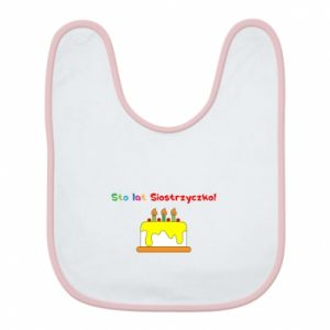 Bib Happy birthday, sister! - PrintSalon
