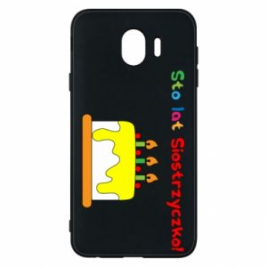 Phone case for Samsung J4 Happy birthday, sister! - PrintSalon