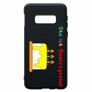 Phone case for Samsung S10e Happy birthday, sister! - PrintSalon