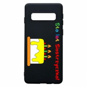 Phone case for Samsung S10 Happy birthday, sister! - PrintSalon