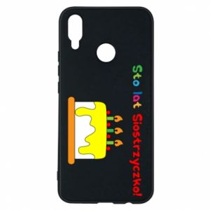 Phone case for Huawei P Smart Plus Happy birthday, sister! - PrintSalon