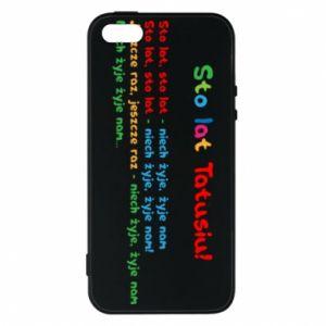 Phone case for iPhone 5/5S/SE Happy Birthday daddy! - PrintSalon