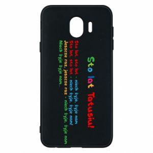 Phone case for Samsung J4 Happy Birthday daddy! - PrintSalon