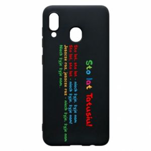 Phone case for Samsung A20 Happy Birthday daddy! - PrintSalon