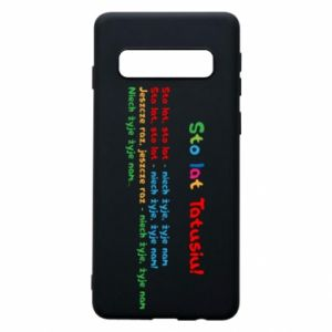 Phone case for Samsung S10 Happy Birthday daddy! - PrintSalon