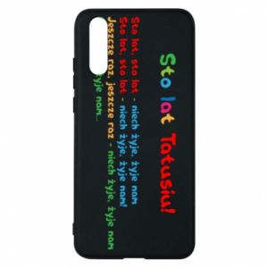 Phone case for Huawei P20 Happy Birthday daddy! - PrintSalon