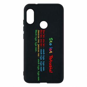 Phone case for Mi A2 Lite Happy Birthday daddy! - PrintSalon