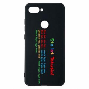 Phone case for Xiaomi Mi8 Lite Happy Birthday daddy! - PrintSalon