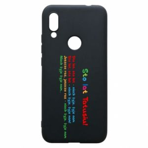 Phone case for Xiaomi Redmi 7 Happy Birthday daddy! - PrintSalon