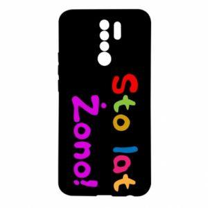 Etui na Xiaomi Redmi 9 Sto lat Żono!