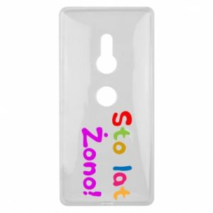Etui na Sony Xperia XZ2 Sto lat Żono!