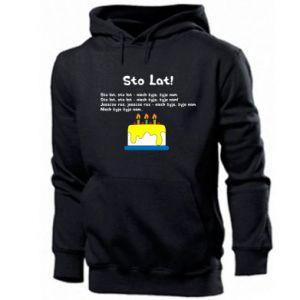 Men's hoodie A hundred years! - PrintSalon