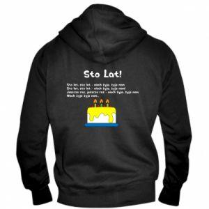 Men's zip up hoodie A hundred years! - PrintSalon