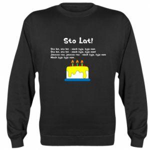 Sweatshirt A hundred years! - PrintSalon