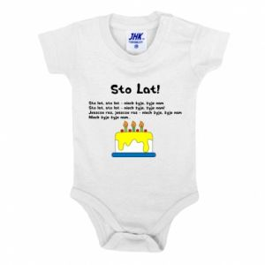 Baby bodysuit A hundred years! - PrintSalon