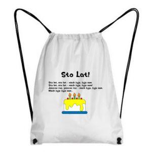 Backpack-bag A hundred years! - PrintSalon