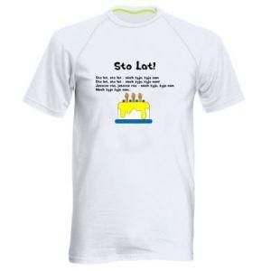 Men's sports t-shirt A hundred years! - PrintSalon