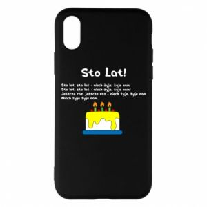 Phone case for iPhone X/Xs A hundred years! - PrintSalon