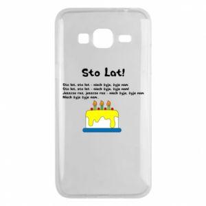 Phone case for Samsung J3 2016 A hundred years! - PrintSalon
