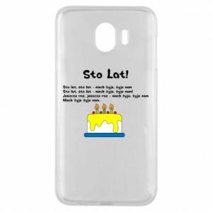 Phone case for Samsung J4 A hundred years! - PrintSalon