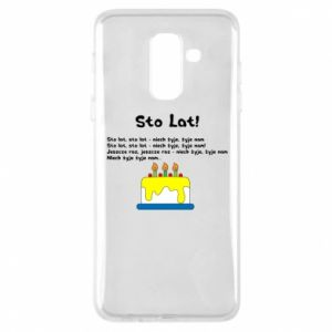 Phone case for Samsung A6+ 2018 A hundred years! - PrintSalon