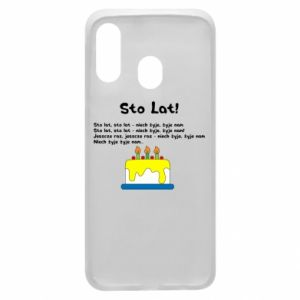 Phone case for Samsung A40 A hundred years! - PrintSalon
