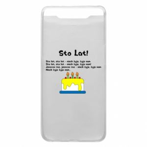 Phone case for Samsung A80 A hundred years! - PrintSalon
