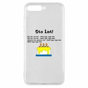 Phone case for Huawei Y6 2018 A hundred years! - PrintSalon