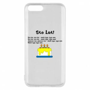 Phone case for Xiaomi Mi6 A hundred years! - PrintSalon