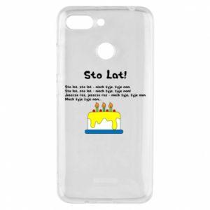 Phone case for Xiaomi Redmi 6 A hundred years! - PrintSalon