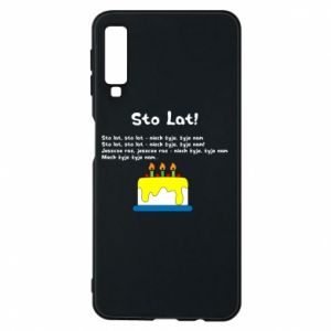 Phone case for Samsung A7 2018 A hundred years! - PrintSalon