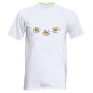 Koszulka sportowa męska Stokrotki
