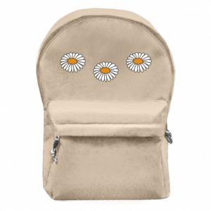 Plecak z przednią kieszenią Stokrotki