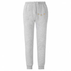 Męskie spodnie lekkie Stokrotki