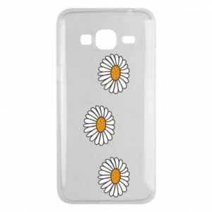 Phone case for Samsung J3 2016 Daisies
