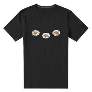 Męska premium koszulka Stokrotki