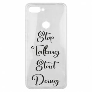 Etui na Xiaomi Mi8 Lite Stop talking start doing
