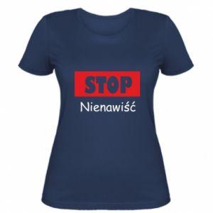 Damska koszulka Stop. Nienawiść