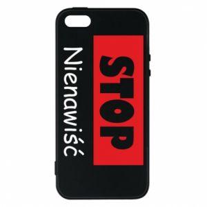 Etui na iPhone 5/5S/SE Stop. Nienawiść