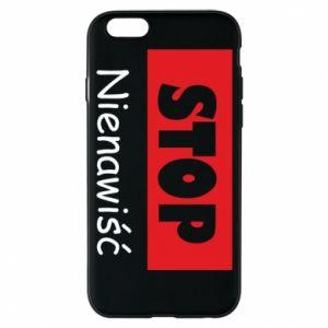 Etui na iPhone 6/6S Stop. Nienawiść