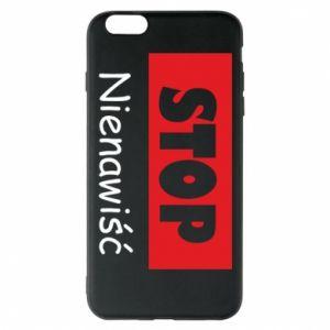 Etui na iPhone 6 Plus/6S Plus Stop. Nienawiść