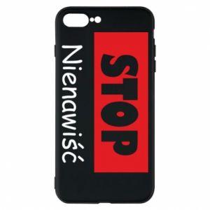 Etui na iPhone 8 Plus Stop. Nienawiść