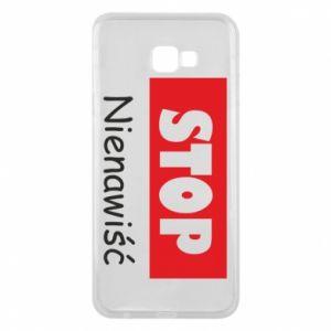Etui na Samsung J4 Plus 2018 Stop. Nienawiść