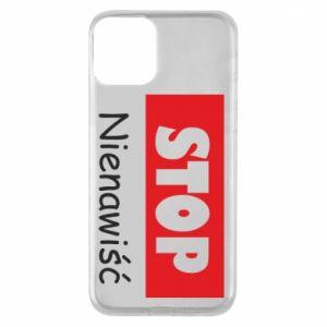 Etui na iPhone 11 Stop. Nienawiść