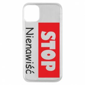 Etui na iPhone 11 Pro Stop. Nienawiść