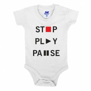 Body dla dzieci Stop. Play. Pause.