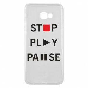 Etui na Samsung J4 Plus 2018 Stop. Play. Pause.